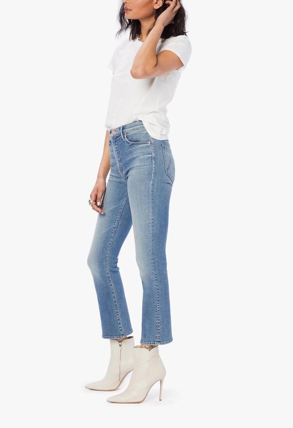 Mother Denim The Insider Crop Jeans - A Side Of Rice And Beans