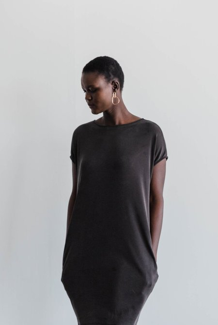 Gracemade Sabbath Cocoon Tunic - Washed Black