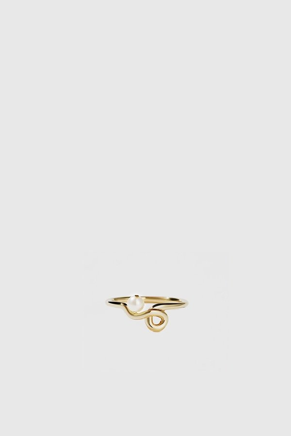 Meadowlark Clio Ring - 9KT Yellow Gold