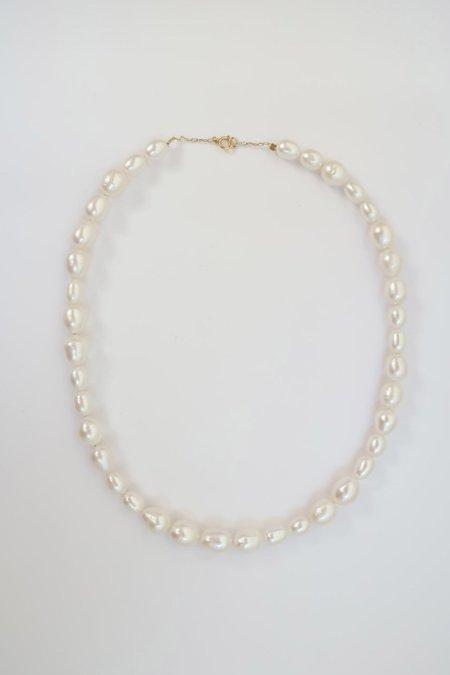 AA Studio Flora Pearl Necklace