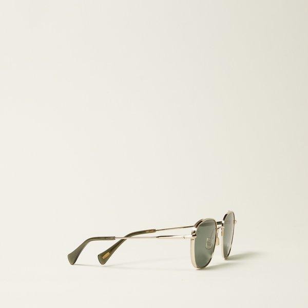 a6ee7ff4e0f9 Raen Morrow Polarized Sunglasses - Light Gold/Moss Green | Garmentory