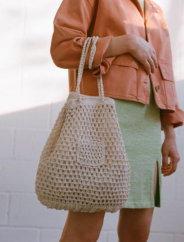 Paloma Wool Morgui Crochet Bucket Bag Garmentory