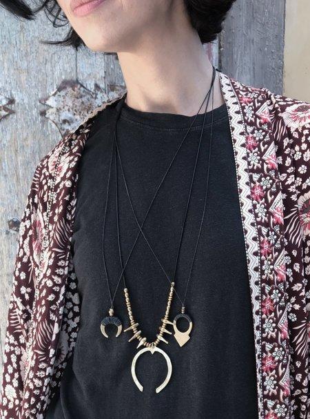 Marisa Mason Deadwood Necklace - Brass