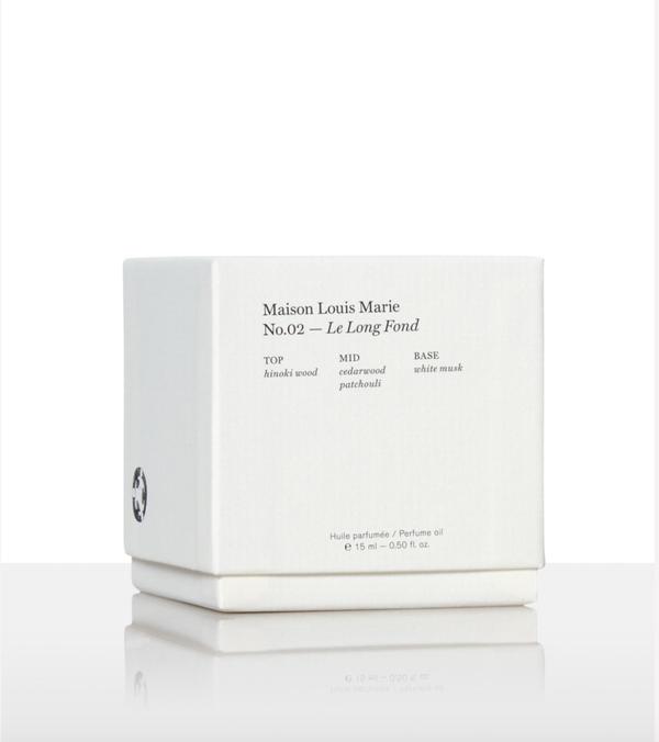 Maison Louis Marie No. 2 Le Long Frond Perfume Oil
