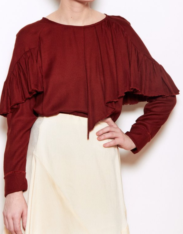Maria Stanley Rooney Blouse - Salsa