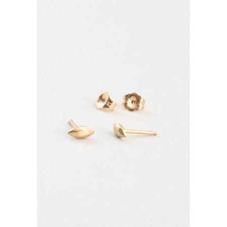 Marisa Mason Seed Stud Earrings - 14k Gold