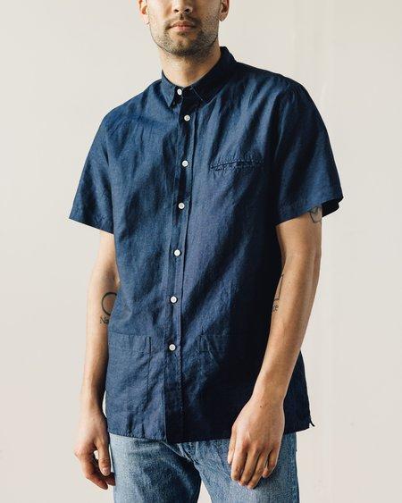 La Paz Castro Shirt - Navy Linen