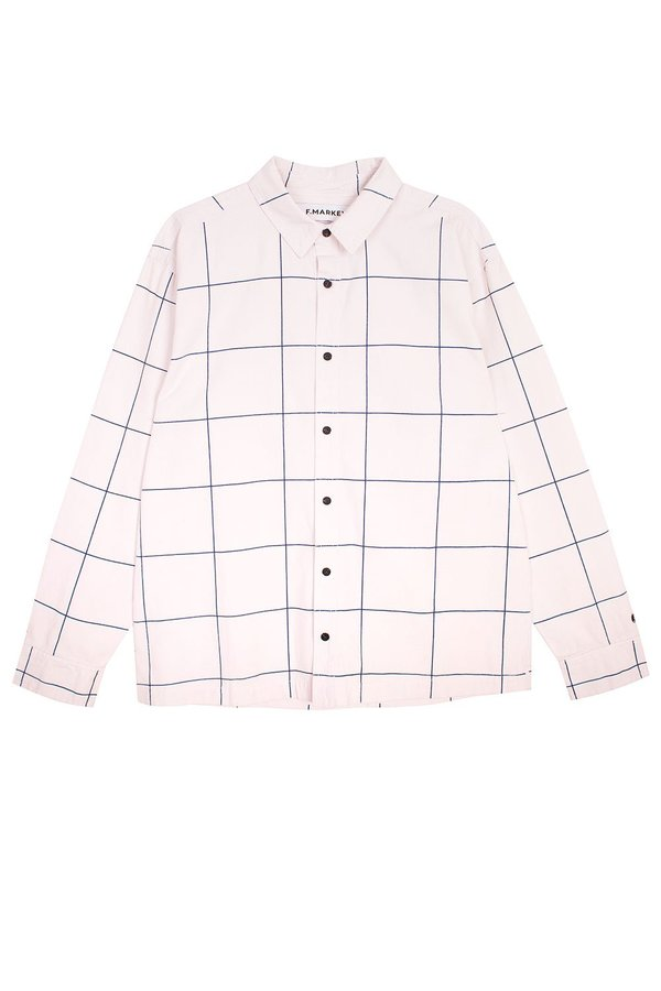 L.F.Markey Sutton Shirt - Windowpane Check