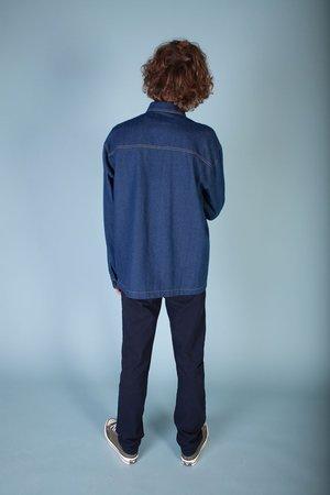 L.F.Markey Yaouk Overshirt - Indigo