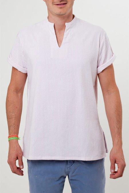 Santa Lupita The Riviera Shirt - Pink