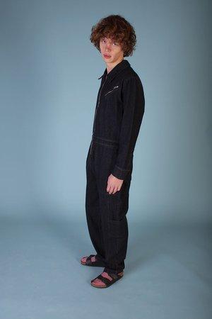 L.F. Markey Chatsbury Boilersuit - Black