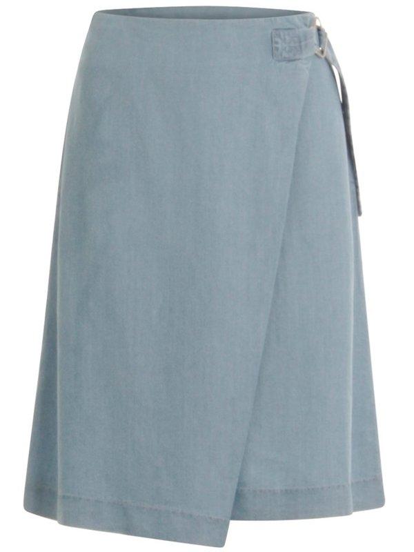 Coster Copenhagen Tencel Wrap Skirt - Light Blue