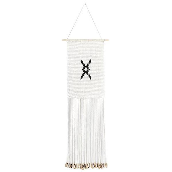 Sidai Designs Medium Diamond Wall Hanging - Black/White