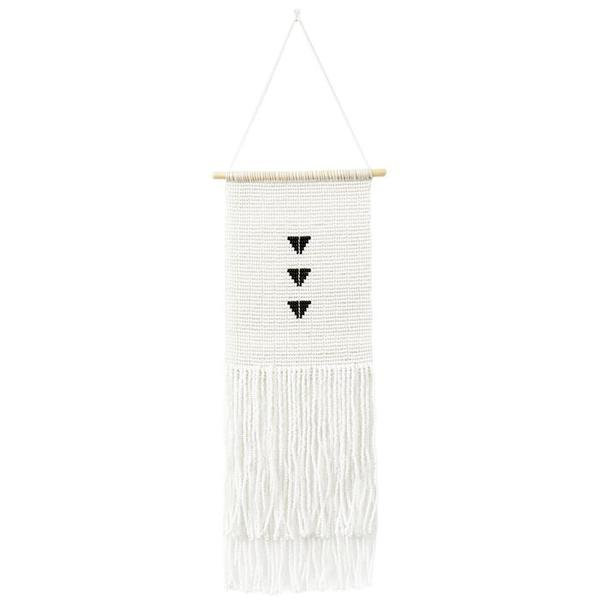 Sidai Designs Triple Triangle Wall Hanging Small - Black/White