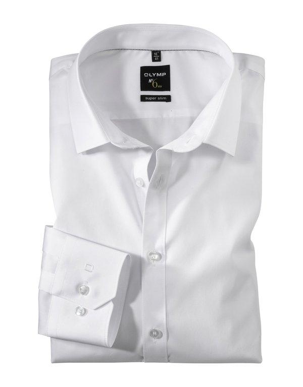 Olymp No 6 Urban Kent Shirt - White