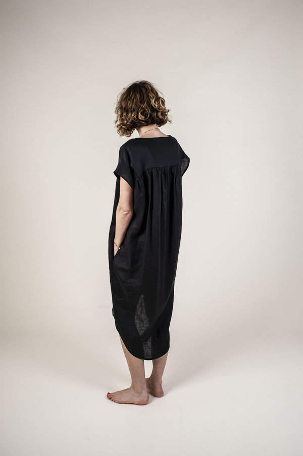 FOLD The Azra Dress - Black