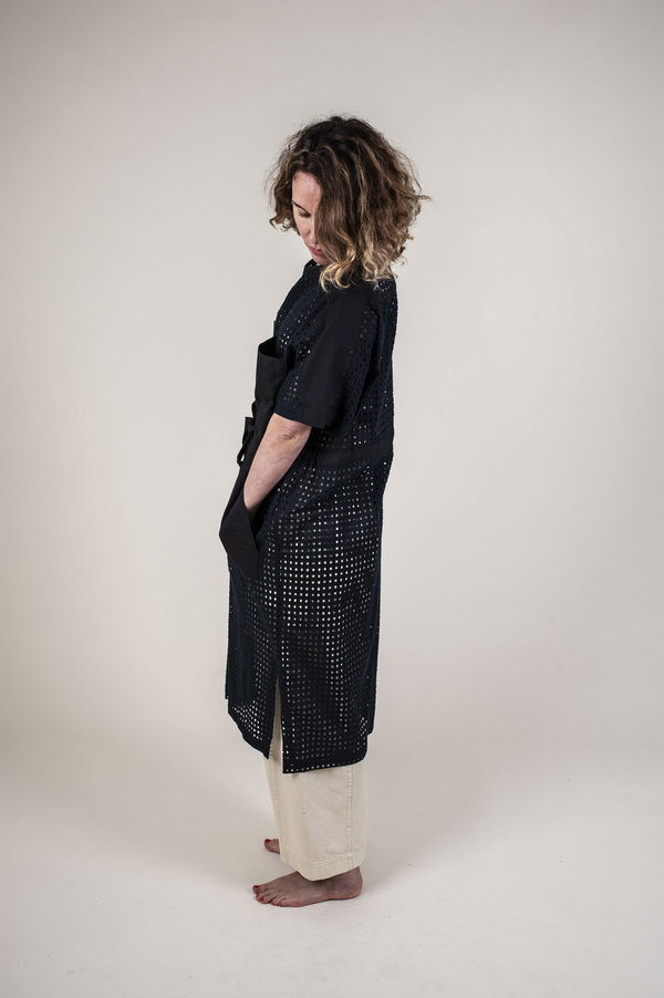 Kloke Agalma Broderie Dress - Ink