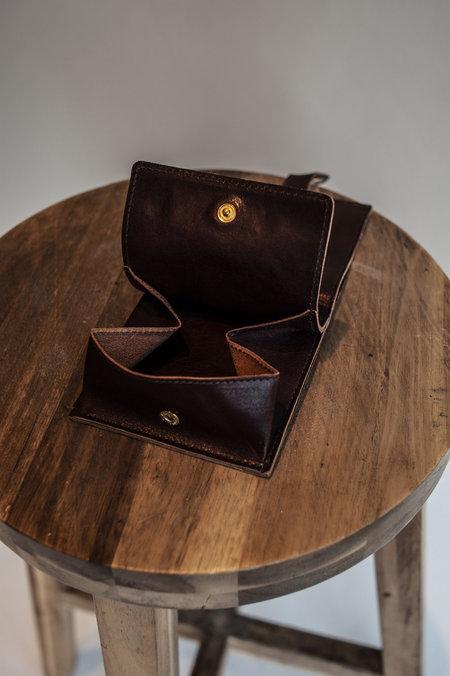 IL Bisonte Wallet - Dark Chocolate