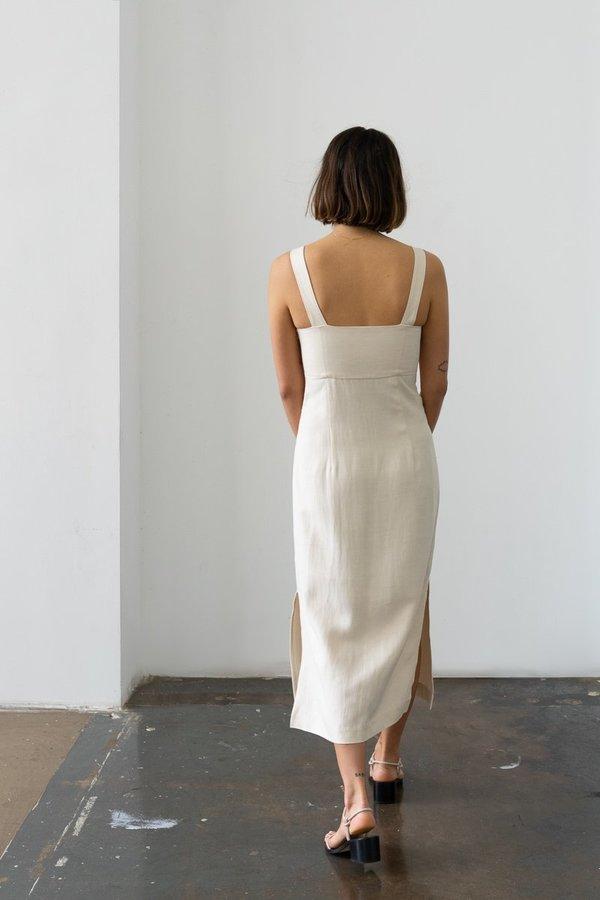 Waltz Bralette Dress - Ecru