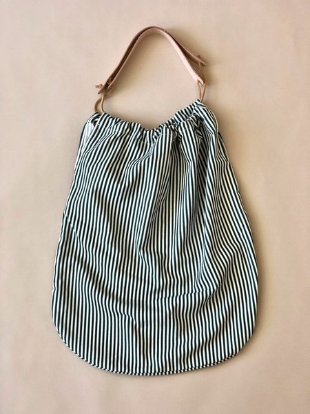 Erin Templeton Grocery Cotton Tote Bag - Stripe