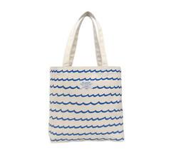 M. CARTER CO. - Wave Stripe Tote - White