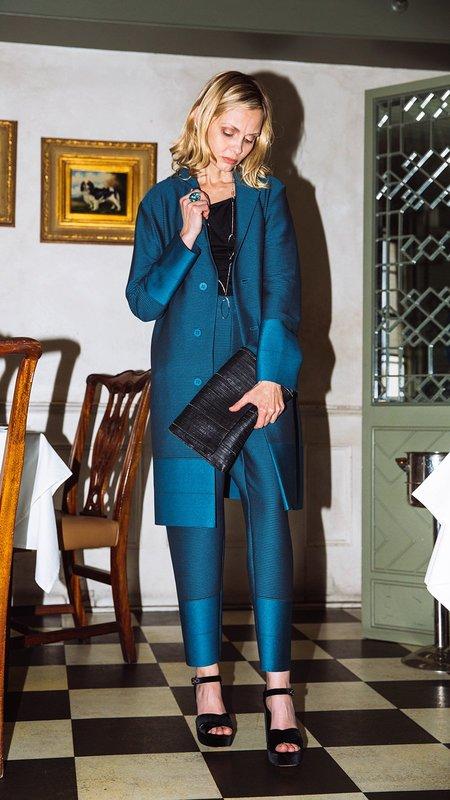 Issey Miyake Cosmic Ripple Jacket - Turquoise