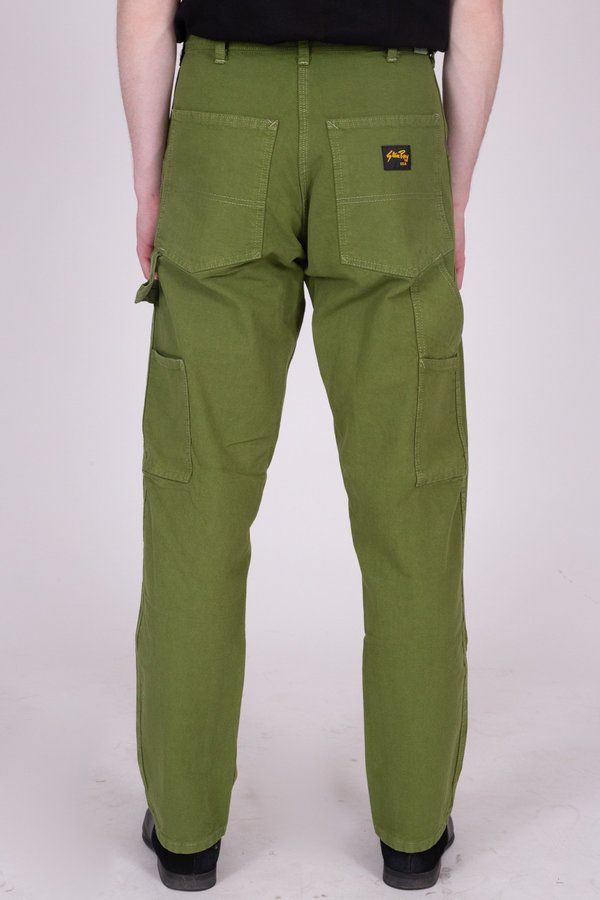 Stan Ray Garment Dyed Loose Fit Painter Pant - Forest
