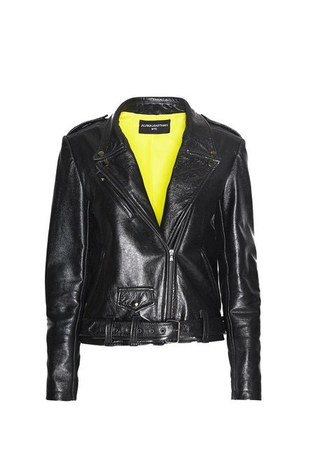 Alyson Eastman Black Diamond Moto Jacket - black
