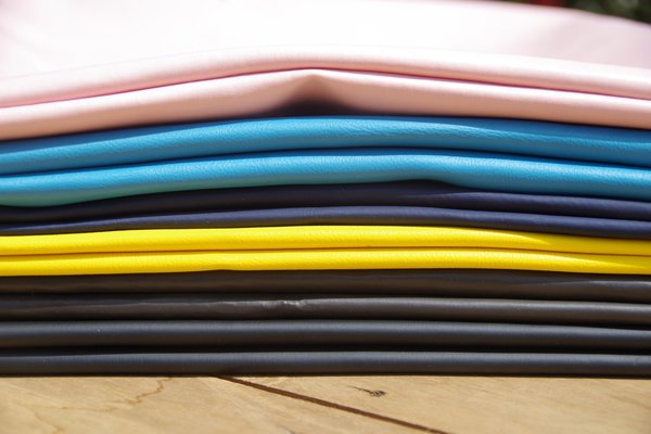 Fashion Rising Collection Vegan Leather Hand-Batik Shopper - Pink