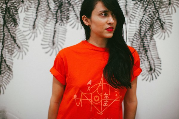 Gold Coast Trading Co. Her Movement T-Shirt - Red
