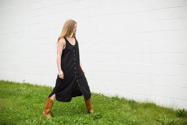 Lacausa Reversible Linen Dress