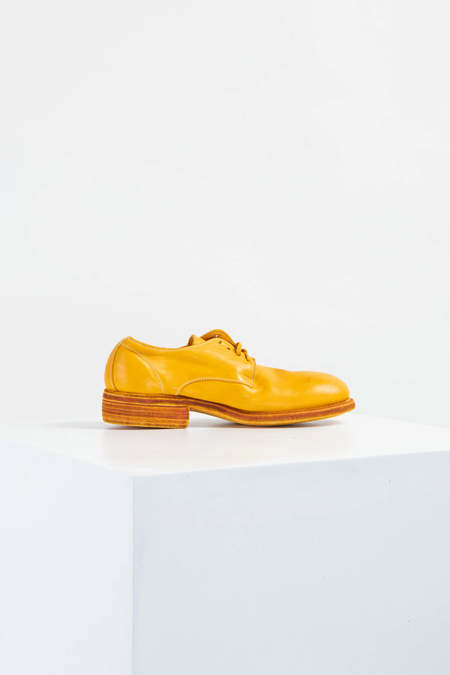GUIDI 992 Oxfords - Yellow