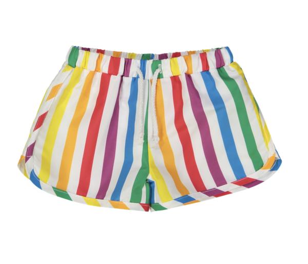 0b75a8bd10 Hugo Loves Tiki Swim Trunks - Rainbow Stripe | Garmentory