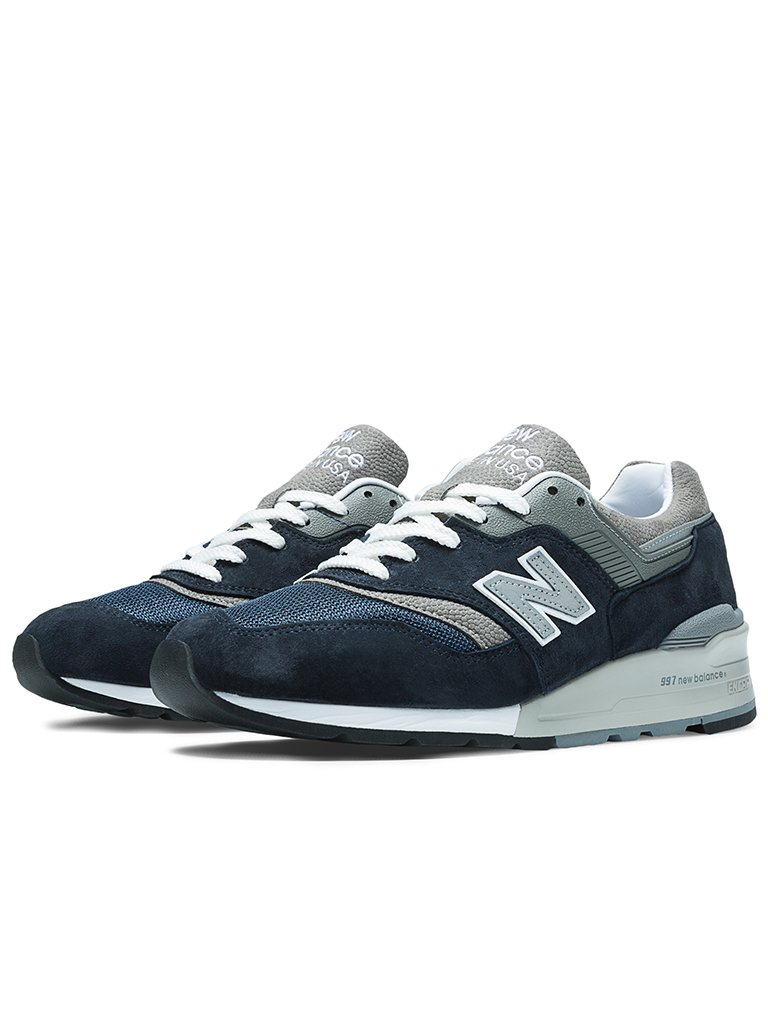 online store b370c 9855c New Balance 997 NV - Navy/Grey