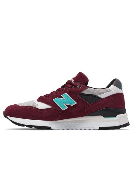 New Balance 998 AWC - Burgundy/Blue