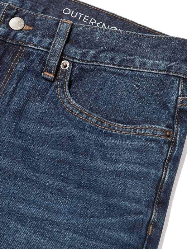 Outerknown Ambassador Slim Fit Jeans - Faded Indigo