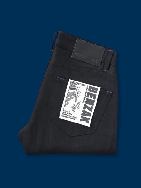 Benzak B-01 Slim 13 oz. Selvedge - Black