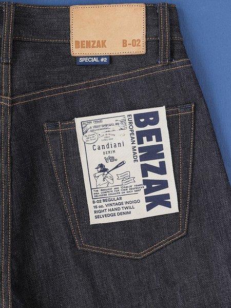 Benzak B-02- Regular Fit 15 oz Vintage Selvedge - Special #2