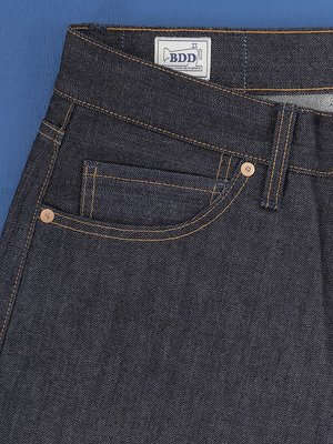 Benzak B-02Regular Fit Vintage Selvedge Jeans