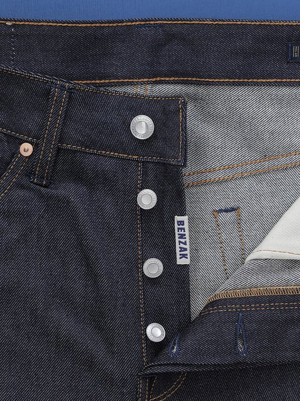 Benzak B-03 Tapered Selvedge Jeans - Indigo