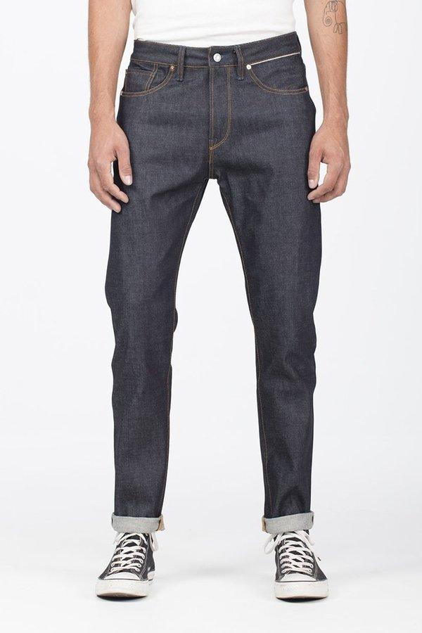 Benzak B-03 Tapered Selvedge Jeans - Dark Indigo