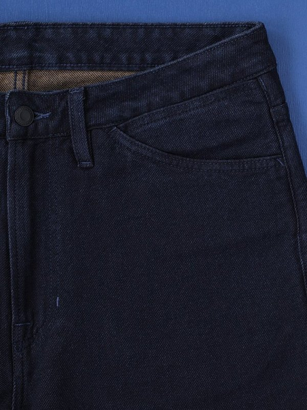 Benzak BP-01 10 oz. Worker Pants - Indigo/Brown Twill