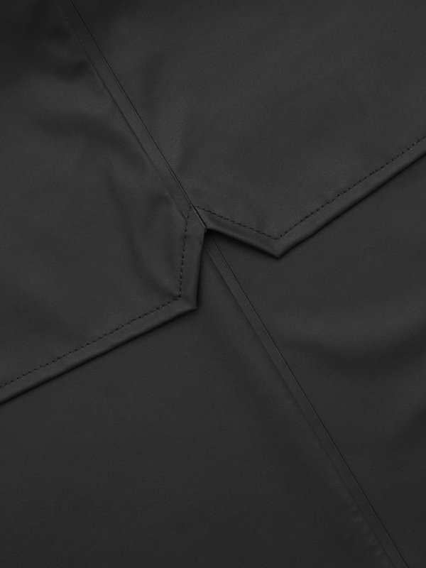 Unisex Rains Breaker Jacket - Black