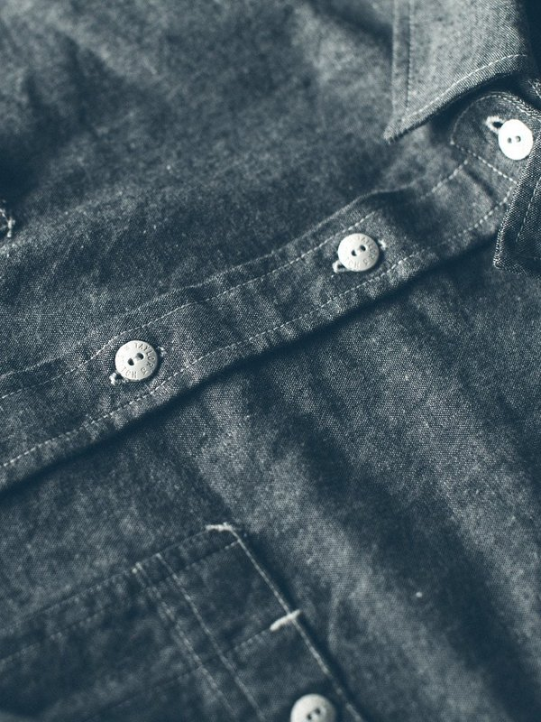 Taylor Stitch California Chambray Shirt - Charcoal | Garmentory