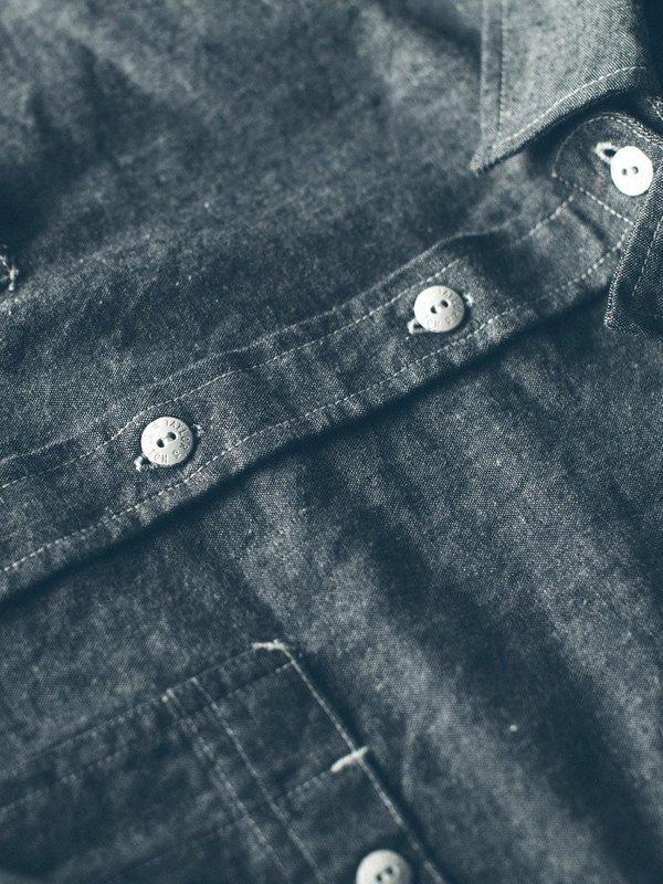 Taylor Stitch California Chambray Shirt - Charcoal | Garmentory
