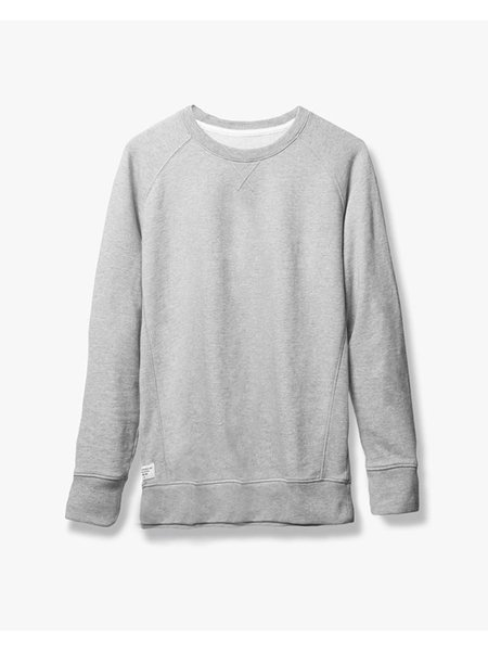 Richer Poorer Crewneck Sweatshirt - Heather Grey
