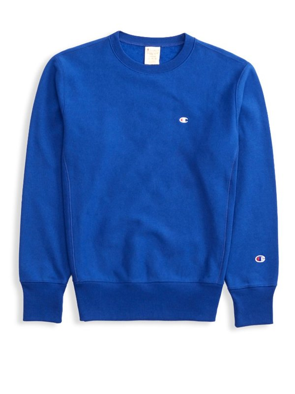 Champion Premium Reverse Weave Crewneck Sweatshirt - Royal Blue
