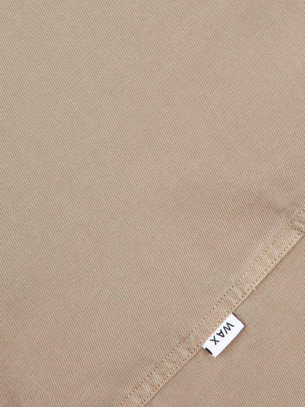 Wax London Fazely Short Sleeve Shirt - Sand