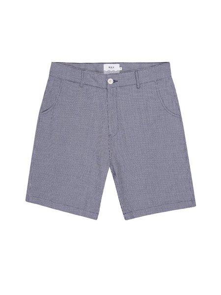 Wax London Holm Shorts - Indigo Weave