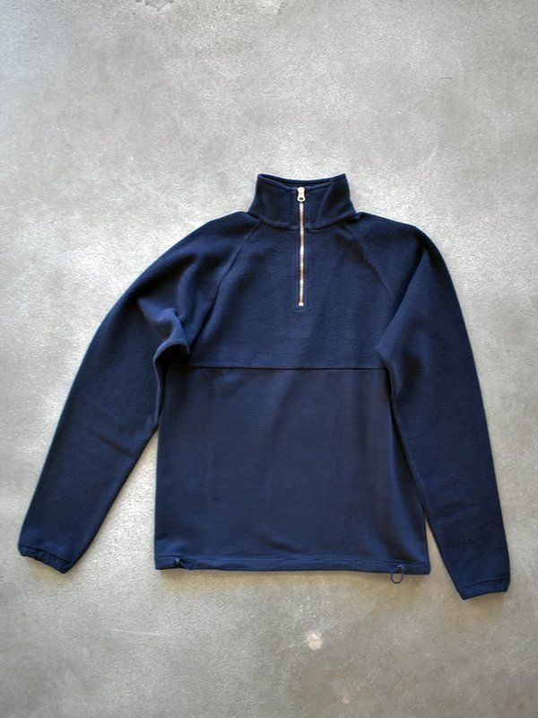 Les Basics le zip sweat - Navy